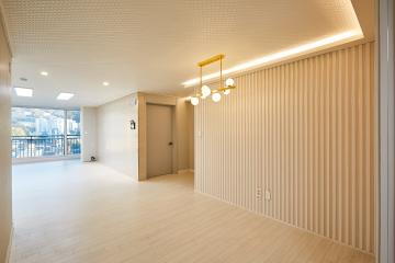 따듯하고 안락한 감성으로 채운, 32평 아파트 인테리어 30평대아파트,32평아파트,송파구,마천동