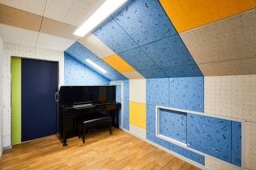 방음벽이 설치된 피아노방이 있는 28평 주택 인테리어 28평주택,20평대주택,성북구,장위동