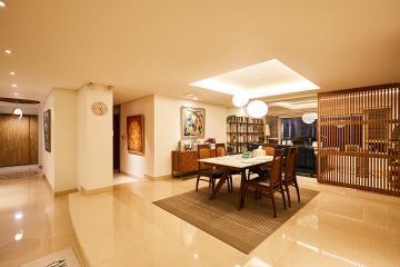 럭셔리한 갤러리같은 우아한 공간, 74평 빌라 인테리어