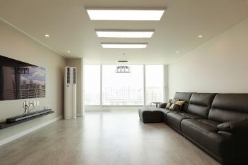 여유로움이 느껴지는 모던심플 공간, 34평 아파트인테리어 34평,30평대아파트,아파트리모델링,월곡