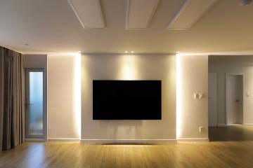 현대적인 세련미를 돋보이게 한 32평 아파트 인테리어 32평,30평대아파트,아파트인테리어,노량진동