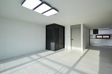 시크한 블랙이 돋보이는 31평 아파트 인테리어 30평대아파트,31평아파트,성남시,양지동