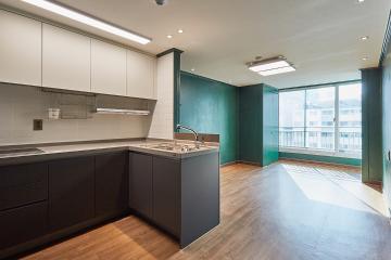 그린 컬러가 포인트인 17평 아파트 인테리어 10평대아파트,17평아파트,용산구,이촌동
