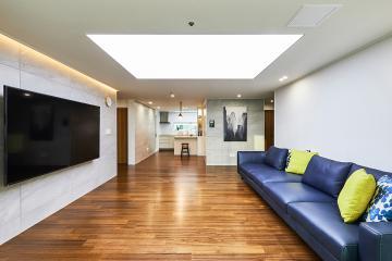 세련된 모던 클래식 스타일의 아늑한 공간, 43평 아파트 인테리어 43평아파트,40평대아파트,마포구,대흥동