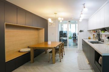 아기자기한 소품과 멋스러운 가구들로 완성된 32평 아파트인테리어  32평,30평대아파트인테리어,아파트인테리어,아파트리모델링,영등포,신길동