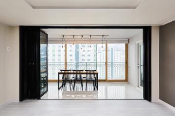 우리집 발코니에 자리한 작은 카페, 36평 아파트 인테리어 30평대아파트,36평아파트,경기도,양주시,백석읍