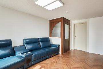 중문이 매력적인 25평 아파트 인테리어 20평대아파트,25평아파트,안양시,석수동