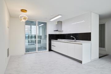 깔끔하고 심플한 블랙&화이트의 31평 아파트 30평대아파트,31평아파트,성남시,중원구,금광동
