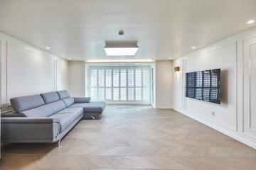 세련되고 감각적인 프렌치 모던 하우스, 58평 아파트 인테리어 프렌치모던,58평아파트,50평대,서울,양천구,신정동