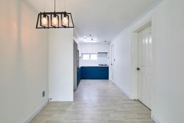 화이트 컬러의 심플 하우스, 30평대 아파트 30평,30평대,경기,파주시,봉일천리