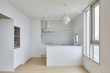 내추럴한 화이트톤의 매력, 40평대 아파트 40평대,47평,경기,수원시,팔달구,인계동