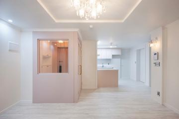 핑크빛으로 물든 우리 집, 20평대 아파트 24평,20평대,경기,수원,영통구