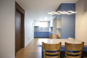 쿨톤 컬러가 너무 나도 잘 어울리는 30평대 아파트 32평,30평대,서울,성북구,상월곡동
