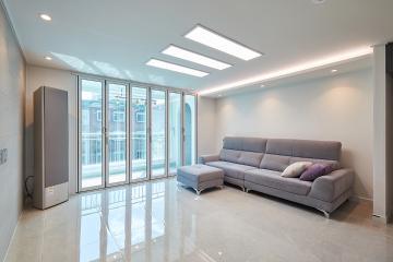 폴리싱 타일로 집안 전체를 반짝반짝하게, 30평대 아파트 30평대,32평,강동구,명일동