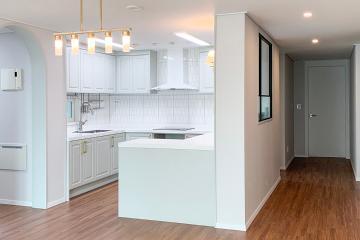 뉴 클래식 스타일의 매력을 자랑하는 40평대 아파트 42평,40평대,경기,화성시,반송동