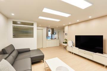 모델하우스 부럽지 않은 미니멀한 공간 30평대 아파트 32평,30평대,노원구,상계동