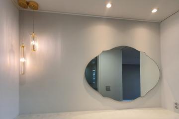 코지 인테리어로 아늑한 공간을 연출한 50평대 아파트 58평,50평대,수원시,권선구