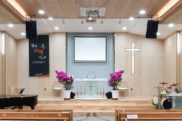 형제 자매님 만족도 1000%, 70평대 교회