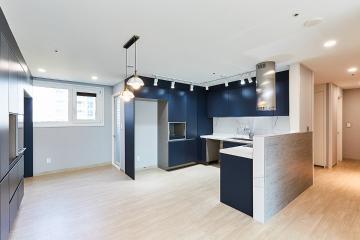 주방부터 욕실까지 럭셔리함이 물씬 풍기는 40평대 아파트