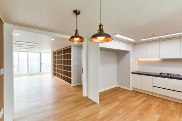 넓은 평수의 공간 효율을 극대화한 50평대 아파트