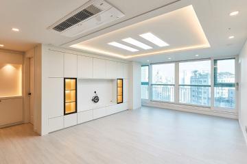 균형감 있는 공간으로 대변신한 40평대 아파트 40평대,44평,중구,황학동