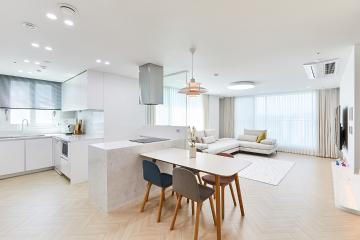 모던&클래식 그리고 완벽한 균형감의 40평대 아파트 양천구,신정동,목동,40평대,44평
