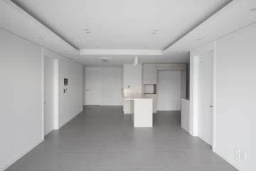 화이트&그레이 컬러로 완성한 모노톤과 여백의 미, 40평대 아파트 40평대아파트,40평아파트,종로구,인의동