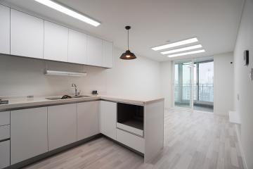 화이트 컬러의 깔끔하고 심플한 20평대 아파트 20평대아파트,24평아파트,구로구,고척동