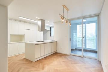 고급스러운 무드와 헤링본 패턴이 만난 40평대 아파트 40평대,42평,인천,부평구,삼산동