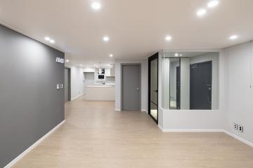 따듯한 컬러 조합의 모던 스타일, 30평대 아파트 30평대아파트,34평아파트,군포시,산본동