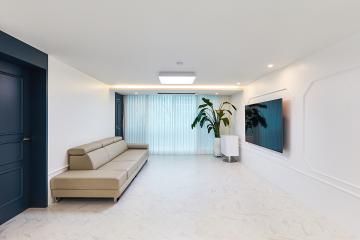 세 가족 모두에게 귀가 본능을 일으켜 줄 30평대 아파트 안양시,동안구,평촌동,33평,30평대