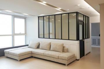 웨인스코팅으로 고급스러움을 더한 40평대 아파트 40평대아파트,40평아파트,서구,청라동