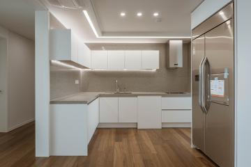 화이트&우드 의 따듯한 미니멀 공간, 30평대 아파트 30평대아파트,38평아파트,화성시,능동
