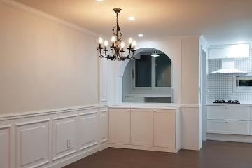 웨인스코팅으로 고급스럽고 클래식한 공간, 40평대 아파트 40평대아파트,48평아파트,고양시,일산서구,주엽동