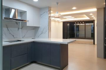 차콜 컬러의 모던 스타일 공간, 30평대 아파트 30평대아파트,33평아파트,고양시,일산서구,주엽동