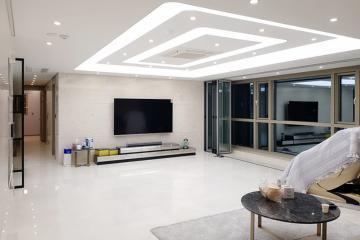 따듯하고 아늑한 공간으로 재탄생한 90평대 아파트