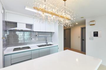 무겁던 집이 산뜻해지는 과정, 20평대 아파트 중랑구,중화동,20평대,25평