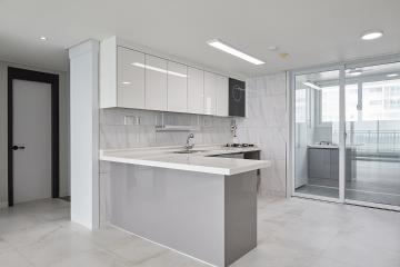 모던, 심플 그리고 블랙&화이트 톤의 30평대 아파트 30평대,34평,평택시,이충동