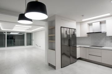 감각적인 그레이 컬러의 아름다운 공간, 40평대 아파트 40평대아파트,48평아파트,수원시,장안구,천천동