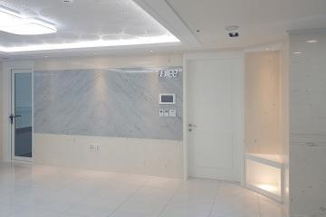 고급스러운 천연 대리석 사용으로 매력적인 공간을 연출한 40평대 아파트 40평대아파트,43평아파트,속초시,조양동