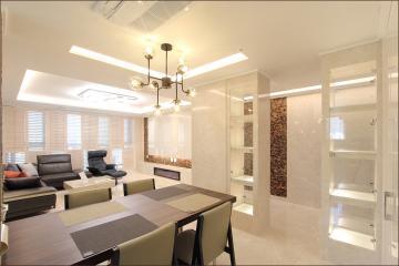 천연대리석을 이용한 북유럽 스타일의 40평대 아파트 40평대아파트,46평아파트,안양시,안양동