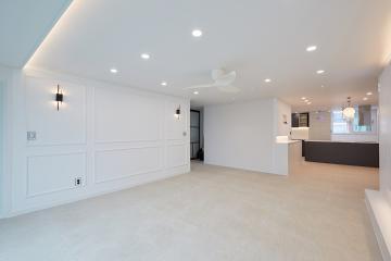 거실과 주방이 돋보이는 40평대 아파트 40평대,42평,노원구,중계동