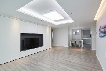 매력적인 거실을 가지고 있는 30평대 아파트 30평대,38평,성남시,분당구,이매동