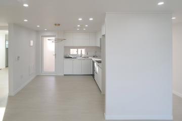 화이트 컬러로 밝고 내추럴한 공간을 연출한 30평대 아파트 30평대아파트,33평아파트,태평동
