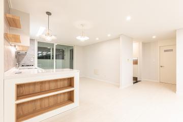화이트 컬러의 포근한 분위기, 30평대 아파트 30평대아파트,32평아파트,성북구,정릉동
