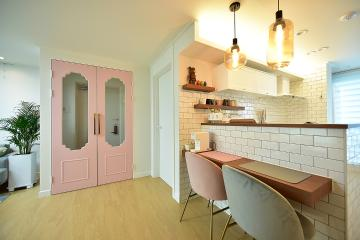 아기자기한 홈카페 분위기로 꾸민 신혼집, 20평대 아파트 20평대아파트,23평아파트,수원시,팔달구