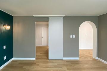 다양한 컬러와 우드 톤의 조합, 50평대 아파트 부천시,상동,50평대,51평아파트