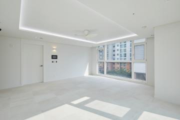 화이트+그레이 컬러로 느낌을 낸 30평대 아파트 30평대,38평,성남시,분당구,삼평동
