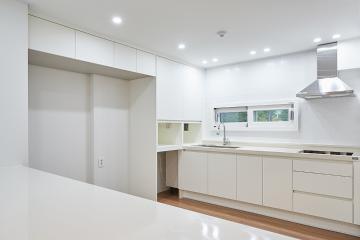 입구부터 깔끔한 화이트톤의 매력, 40평대 아파트 40평대,49평,노원구,월계동