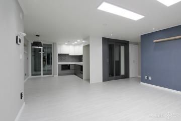 심플한 그레이로 넓어보이게 32평 아파트 인테리어 32평,그레이,심플,아파트,수원시